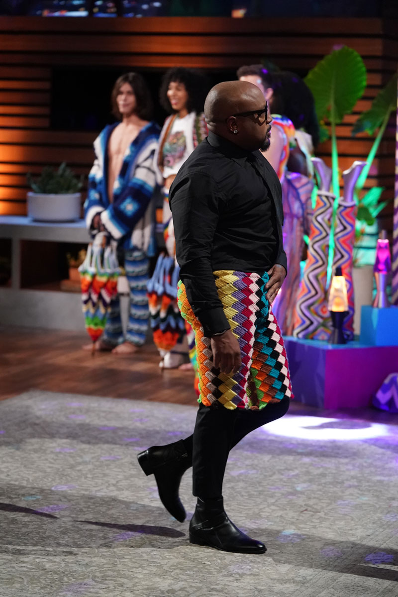 crochet shorts on shark tank